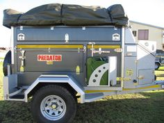 Leeu 2000 Extreme Off Road Trailer | Alu Predator Off Road Trailers | George, Western Cape