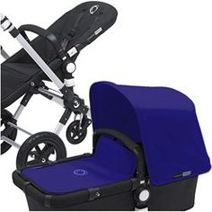 Baby Carseat stroller: Bugaboo Cameleon Tailored Fabric Set - Electric Blue -- Details can be found by clicking on the image.