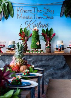 Disney Moana Birthday Party Ideas - Pretty My Party