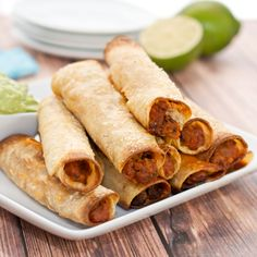 We continue onto Week 2 of College Football, which means another delicious Football bite! Todays recipe for Bean and Beef Taquitos are the perfect hand-held snack for your next tailgating party. Th...