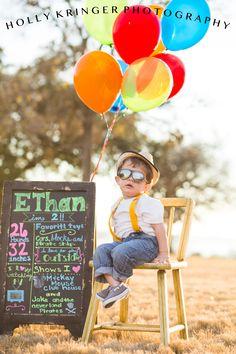 Birthday boy | 2 years old | balloons | children's photography | sunset | phoot shoot idea | photography.. www.facebook.com/hollykringerphotography