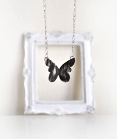 The Black Butterfly Effect Sterling Silver by MarrenJewelry