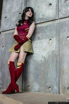 Female Iron Man Cosplay by Magnolia