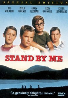 Stand by Me (1986) One of my favourite movies of all time and easily a 5* star film. Unashamedly nostalgic and beautifully acted, still the nearest I've ever seen to having my own adventurous childhood on film!