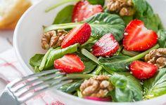 Receta Ensalada de frutos rojos