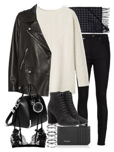 Sin título #1956 by alx97 on Polyvore featuring polyvore, fashion, style, Toast, Acne Studios, Yves Saint Laurent, Givenchy, M.N.G, Michael Kors and Monki