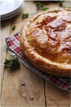 Pâté aux pommes de terre Easy French Recipes, Swiss Recipes, No Salt Recipes, Top Recipes, Chef Recipes, Potato Recipes, Cooking Recipes, Typical French Food, Traditional French Recipes