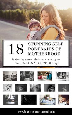 A photography community centered around one topic: self portraits of motherhood. Learn how to be a part of the group and get inspired to take your own self portraits of you and your children!  Read More