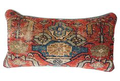 I inherited a Persian Rug pillow...and still have it...but tossed out the four kilim pillows I brought back from Istanbul.  They were like Velcro on my doggies.  Mom loved the mix, and if she could have had more Persian rugs and pillows she would have.  My pillow is from the Iranian parents of her niece's husband.  They fell in love with mom and showered her with gifts when they returned to pre-revolutionary Iran.