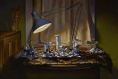night games - Paintings by Heather Neill  <3 <3