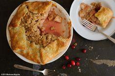 South Dakota Food Apple Cranberry Pie from Wholesome Magazine, South Dakota  #southdakota #wholesomesd