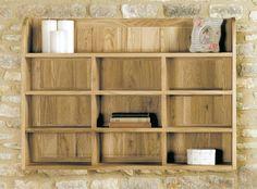 buy baumhaus mobel oak reversible wall rack online by baumhaus furniture from cfs uk at unbeatable price