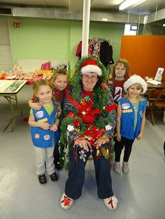 A a multi-level Girl Scout troop leader, I often get asked how I cater to the broad spectrum of age ranges during a Christmas Party