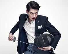 Kim Woo Bin - Sieg Fahrenheit S/S 2015