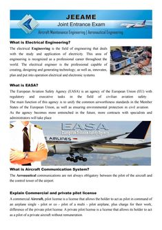 Apply for AME Commercial and private pilot license (Aircraft Engineering)