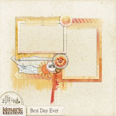 kimeric kreations: A Best Day Ever frame cluster to share!