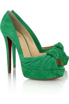 keels ?!  (kelly green heels)  yes PLEASE!