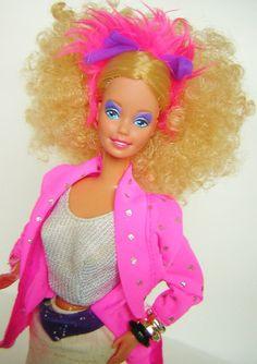 Barbie Superstar Rockers 1985 Vintage RARE VHTF Display OOAK 80'S   eBay