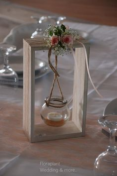 Κέντρο - Τραπέζια καλεσμένων - Center piece Glass Vase, Spring, Wedding, Home Decor, Valentines Day Weddings, Decoration Home, Room Decor, Weddings, Home Interior Design