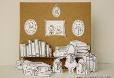 Foto afdruk van een van mijn mooie papier dioramas. Elk diorama is gemaakt door mij met mijn oorspronkelijke kinderen illustraties instellen in miniatuur-scenarios die ik met verschillende elementen maken. Ze zijn zon lief en schattig!  Als u zien al mijn dioramas gaan naar mijn website portfolio hier willen zou:  http://www.caracarmina.com/#!portfolio/vstc1=dioramas  Stuur mij een bericht als u wilt dat een ander afdrukken u don´t zie in de winkel.  INFO:  -Letter-formaat -Gedrukt op…