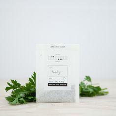 Parsley - Organic Seeds: Remodelista