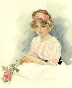 Женщины прекрасной эпохи Art Nouveau от Henry Hutt (USA, Chicago, 1875 - 1950)... Быть Женщиной... Как много это значит!. Обсуждение на LiveInternet - Российский Сервис Онлайн-Дневников