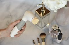 Up your daily cleansing regime. The lady I cleansing brush addresses your skin care concerns by:   DEEP CLEANING using the facial brush.  MASSAGING and stimulating your skin with the facial sponge.  SMOOTHING rough skin on your feet and elbows with the pumice stone.  EXFOLIATING with the body brush. Pumice Stone, Asian Skincare, Beauty Regime, Body Brushing, K Beauty, Facial Care, Deep Cleaning, Korean Beauty, Healthy Skin