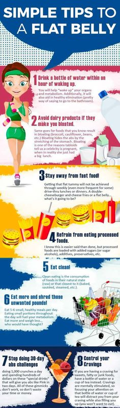 8 Tips to a Flat Belly: A flat stomach, toned or six-pack abs may take a whole lot of work and dedication, but they are possible. These 8 tips can help you flatten that belly! The best way to weight loss in Recommends Gwen Stefani - READ MORE! Lose Weight Quick, Diet Plans To Lose Weight, Losing Weight, Get Healthy, Healthy Tips, Healthy Foods, Healthy Nutrition, Weight Lifting, Weight Loss Tips