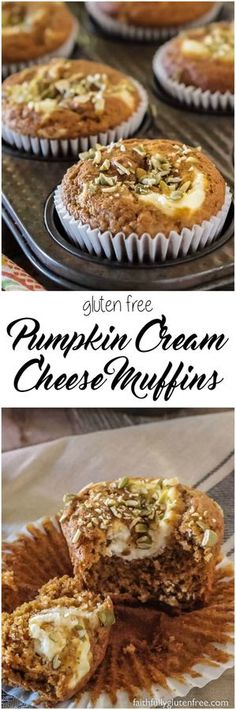 Skip the coffee shops, and make your own gluten free Pumpkin Cream Cheese Muffins at home. They taste much better, and cost a whole lot less. Gluten Free Bakery, Gluten Free Muffins, Gluten Free Desserts, Gluten Free Recipes, Vegetarian Desserts, Pumpkin Cream Cheese Muffins, Pumpkin Cream Cheeses, Gluten Free Pumpkin, Pumpkin Recipes