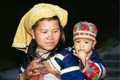 Mother and child from Northern Vietnam