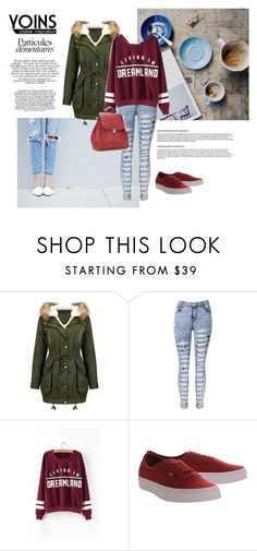 """""""Yoins"""" by alien-official ❤ liked on Polyvore featuring Vans, women's clothing, women's fashion, women, female, woman, misses, juniors and yoins"""