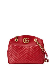 e4770733e4d Gucci GG Marmont 2.0 Medium Quilted Shoulder Bag