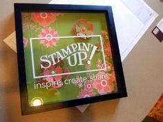 great display frame idea