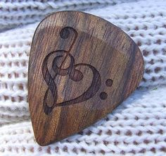 Pretty guitar pick
