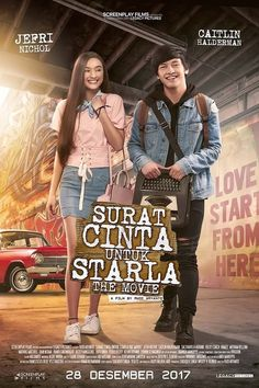Watch Surat Cinta Untuk Starla The Movie DVD and Movie Online Streaming Streaming Hd, Streaming Movies, Trailer Film, Home Movies, 2017 Movies, Full Movies Download, Download Video, Romance Movies, France
