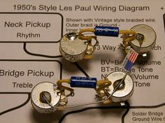 Jonesyblues Les Paul Wiring Tips DIY Videos Building Electric - Wiring diagram les paul