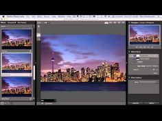 Photoshop and Lightroom Before/After Editing Video - Toronto Skyline Photo Popular Photography, Photoshop Photography, Video Photography, Digital Photography, Amazing Photography, Photography Hacks, Lightroom Tutorial, Photoshop Tips, Photoshop Design