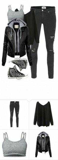 """Arrow - Roy Harper Inspired School Outfit"" Featuring Paige Denim, Lija, Converse, school, Arrow and royharper Neue Outfits, Komplette Outfits, Grunge Outfits, Summer Outfits, Casual Outfits, Fashion Outfits, Latest Outfits, Cute Punk Outfits, Fashion Clothes"