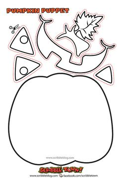 Halloween on pinterest monsters spiders and halloween for 5 little pumpkins coloring page