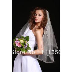 Zoek meer Bridal Veils Informatie over kwaliteit garen wit/ivoor trouwjurk sluier korte bruids sluier, Hoge Kwaliteit bruidsjurken trouwjurken, Chinese bruiloften trouwjurken Leveranciers, Goedkoop vrouwen jurk van World Bride op Aliexpress.com