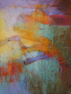"""Ephemera"" Soft pastel on sanded paper,  by Debora Stewart"