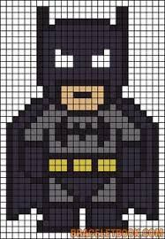 Batman Perler Bead Pattern-could also work for a quilt pattern :) . - Batman Perler Bead Pattern-could also work for a quilt pattern :] – making - Pearler Bead Patterns, Perler Patterns, Pearler Beads, Quilt Patterns, Loom Patterns, Art Patterns, Knitting Patterns, Crochet Patterns, Perler Bead Templates