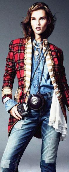 Armani Jeans, Ralph Lauren Jacket