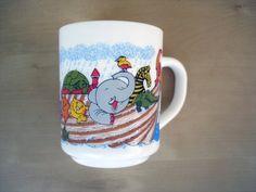 Fun Vintage Mug For Kids Arcopal coffee tea by PrettyTurkishThings, $9.50