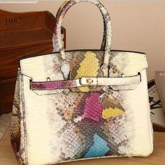Serpentine Socialite Tote Bags