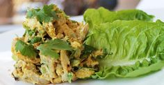 I LOVE a good curried chicken salad. Thankfully, it's also so easy to whip up, too! The only real