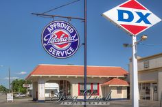 Afton Station is a refurbished 1930's DX gas station now Route 66 Visitor Center.  Afton Station is also home to a collection of classic cars including many Packards.