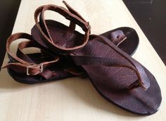 Piba Leather Sandals by TheSaddlebagCo on Etsy, $60.00