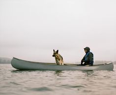 Neil DaCosta and Loki out on the Columbia River, Oregon.