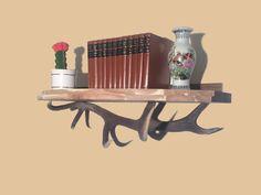www.oh-my-deer.com #geweih #antler #hirsch #deer #kunst #art #handwerk #omd #OH_MY_DEER #kunsthandwerk #individuell #unique #einzigartig #handarbeit #rustikal #stilvoll #Regal